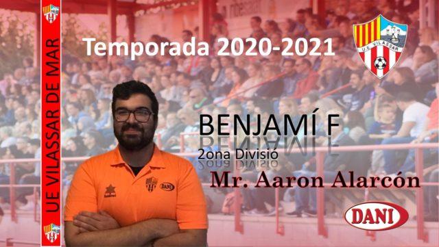 Entrenador Benjamí F 2020-2021