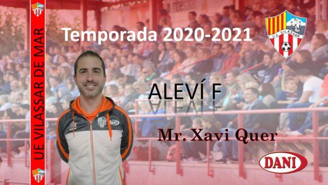 Entrenador Aleví F 2020-2021