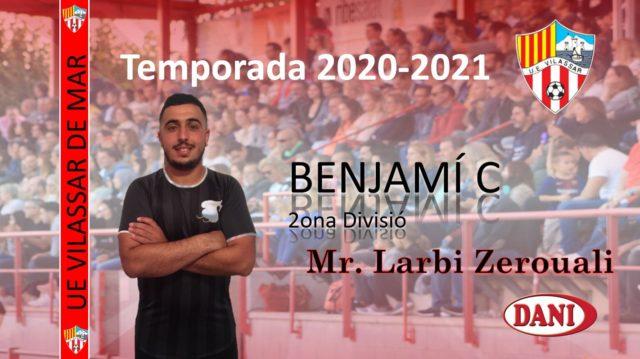 Entrenador Benjamí C 2020-2021