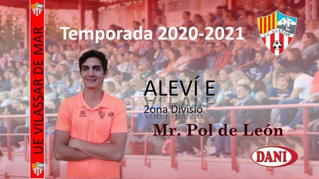 Entrenador Aleví E 2020-2021