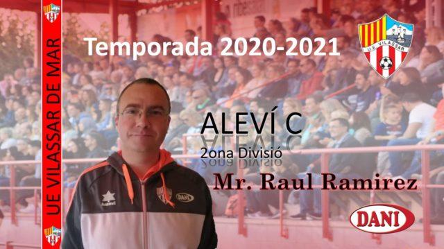 Entrenador Aleví C 2020-2021